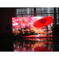Buy cheap Aluminum / iron cabinet P8 indoor advertising led stage display screen from wholesalers