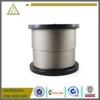 Buy cheap 1x7 1mm high carbon steel wire cable steel strand steel wire rope steel wire from wholesalers