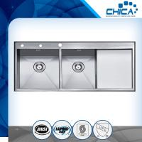 Buy cheap Simple design cheap high capacity handmade used kitchen sinks for sale wigh long warranty from wholesalers