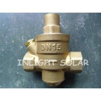 Buy cheap Brass Type Pressure Relief  Valve / Pressure Reducing Valve For Solar Water Heaters from wholesalers