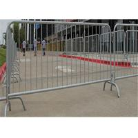 Buy cheap Temporary pesdetrain metal crowd control barrier fence safety for outdoor product