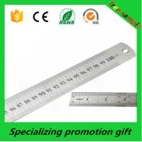 Buy cheap 100cm 40inch metric inch metal scale steel ruler for business promotion from wholesalers