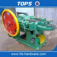 China Automatic iron steel wire common nails making machine on sale