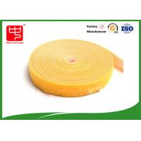 Buy cheap Adjustable 25MM double sided hook and loop tape for fabric yellow hook and loop tape from wholesalers