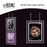Buy cheap Double sides crystal light box from wholesalers