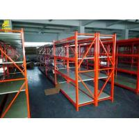Buy cheap Single / Double Side Heavy Duty Steel Racks For Industrial Storage Narrow Aisle from wholesalers