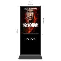 Buy cheap Windows I3 Self Service Touch Screen Kiosks 49 Inch Advertising Media Player from wholesalers