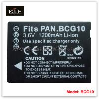Buy cheap Battery pack BCG10 for Panasonic from wholesalers