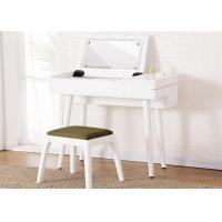Buy cheap Economic White Gloss Dressing Table , Lady Hotel Contemporary Dressing Table from wholesalers