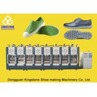8 Stations Shoe Sole Making Machine Production Line For EVA Slipper / Sandals / Boots