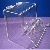 Buy cheap Countertop Jelly Beans Acrylic Display Case Waterproof with Lids product