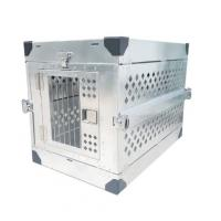 Buy cheap Large Aluminum Diamond Plate Dog Box , Collapsible Aluminium Dog Cage from wholesalers