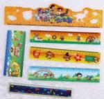 Buy cheap custom Cartoon lenticular 3d plastic folding ruler 3D Lenticular Printed Plastic Straight ruler for school from wholesalers