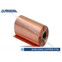 Buy cheap Chemical resistance EMI / EMC Shielding Room Electrolytic Copper Foil Roll from wholesalers