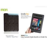 Buy cheap Logo Laser Mofi Personalized Protective Amazon kindle Fire Leather cover With Super Fiber from wholesalers