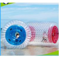 Buy cheap PVC 1.0mm Inflatable Water Roller , Inflatable Rolling Ball For Adults / Kids from wholesalers