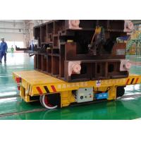 Buy cheap Foundry plant mold transfer trolley steel die mold handling inter-bay from wholesalers
