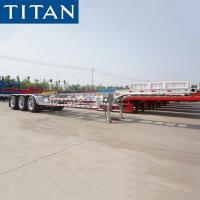 Buy cheap Container Chassis - 40ft Container Transport Chassis for Sale from wholesalers