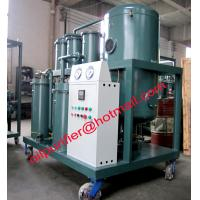 Buy cheap China Vacuum Lube Oil Purifier ,Lubricant oil filtering, Oil Purification Machine,High viscosity oil treatment plant from wholesalers