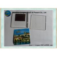 Buy cheap Beautiful scenery photo acrylic keychain fridge magnet as DIY souvenir from wholesalers