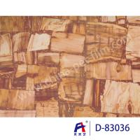 Buy cheap Marble Series Decorative PVC Ceiling Film , Pvc Stretch Ceiling Film D -83036 from wholesalers