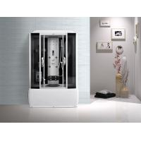Computer Panel Bathroom Shower Cabins White ABS High Tray Silive Profiles