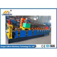 Buy cheap High Production Ridge Cap Roll Forming Machine 7.5m*1.0m*1.2m With Roof Accessories from wholesalers
