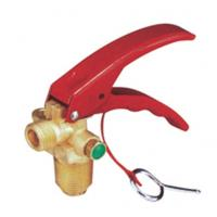 Buy cheap Carbon Dioxide Fire Extinguisher Fittings , Gate Valve Fire Extinguisher Parts With Handle from wholesalers