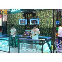 """Buy cheap Interactive High ROI VR Game Machine With Two 32"""" Real - Time Display Screens from wholesalers"""
