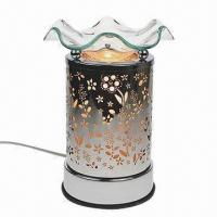 Buy cheap Electric touch aroma lamp oil, tart Warmer metal to flowers from wholesalers
