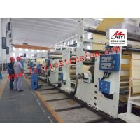 Buy cheap Full Automatic Paper Pe Coating Machine , Precision Thickness Thermal Paper from wholesalers