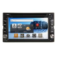 Buy cheap Android 2.3 System 6.2 Inch Double Din Vehicle DVD Players With GPS Navi Bt /AM /FM from wholesalers