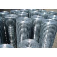 Buy cheap 1/2 3/4 1'' Hot Dipped Galvanized Welded Wire Mesh Max width 2.5m from wholesalers