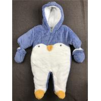 Buy cheap Long Sleeve Baby Winter Snowsuit Thick Hooded Down Romper Piece 0 - 24 Months from wholesalers