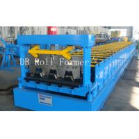 Buy cheap Floor Deck Roll Forming Machine Directly Input The Data on the Touch Screen from wholesalers