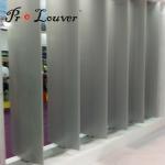 New design Aerofoil sun louver,sun shade aluminium louvers for modern buildings
