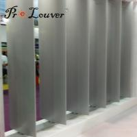 Buy cheap New design Aerofoil sun louver,sun shade aluminium louvers for modern buildings from wholesalers