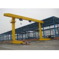 Buy cheap Rail Mounted Single Beam Gantry Crane With Weight Overload Protection Device from wholesalers
