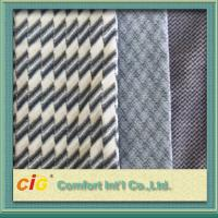 Buy cheap Bus / Car Interior Decoration Striped Auto Upholstery Fabric / Contemporary Upholstery Fabric from wholesalers
