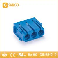 Buy cheap 3pin bule Pneumatic Module heavy duty connector for machine producer from wholesalers