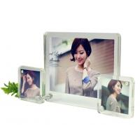 Buy cheap acrylic easel photo frame from wholesalers