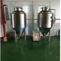 Buy cheap 800L olive oil/palm oil/raw milk storage tank stainless steel beer wine tank  2500l 304 Ss Beer Brite Bright Tank(ce) from wholesalers