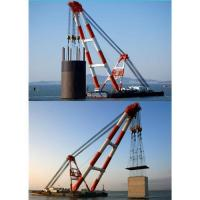Buy cheap Japan,Jordan,Cambodia floating crane sell charter supply crane barge 100T TO from wholesalers