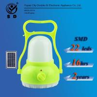Buy cheap 22leds Portable rechargeable solar lantern Emergency Lighting camping light from wholesalers