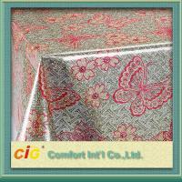 Eco-friendly PVC Transparent Film , Round or Square PVC Table Cloths