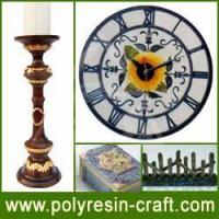 Buy cheap Polyresin Craft-Polyresin Clock from wholesalers