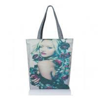 Buy cheap New female beauty magazine printed canvas shoulder bag woman from wholesalers