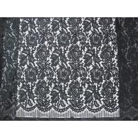Buy cheap Cotton Nylon Rayon Corded Lace Fabric   from wholesalers