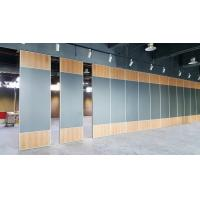 Buy cheap Aluminium alloy Sliding Partition Wall for Exhibition Hall / Meeting Room from wholesalers