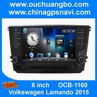 Buy cheap Ouchuangbo audio DVD navi radio stereo Volkswagen Lamando 2015 support Russian BT swc USB from wholesalers